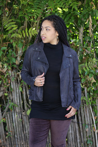 Kut from the Kloth Emma Boyfriend Jacket in Esteemed Vintage