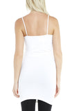 M. Rena Long Cami in White