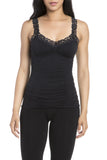 M. Rena Lace Corset Cami in Black