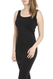 M. Rena Sleeveless Rayon Dress in Black