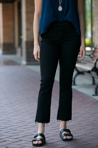 JOE'S JEANS The High Rise Honey Skinny Crop in Penelope