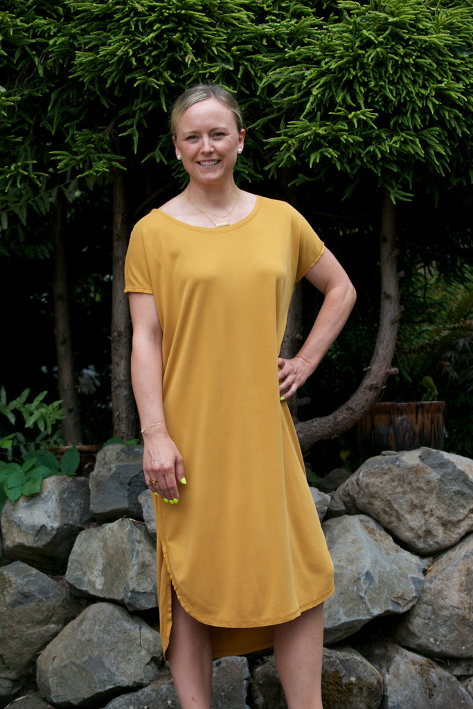 NYLAND Monica Dress Mustard