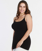 Niki Biki Plus Size Long Camisole in Black