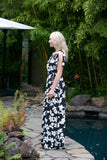 NYLAND Floral Print Wrap Maxi Dress