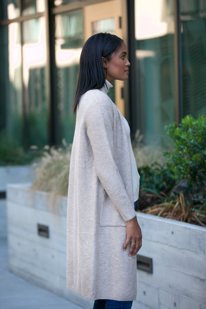 NYLAND Knit Cardigan Sweater