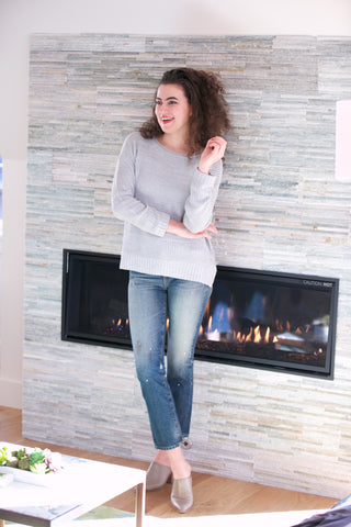 ADORN HOLIDAY Ellison Long Cardigan