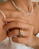 LUV AJ Amalfi Tube Ring