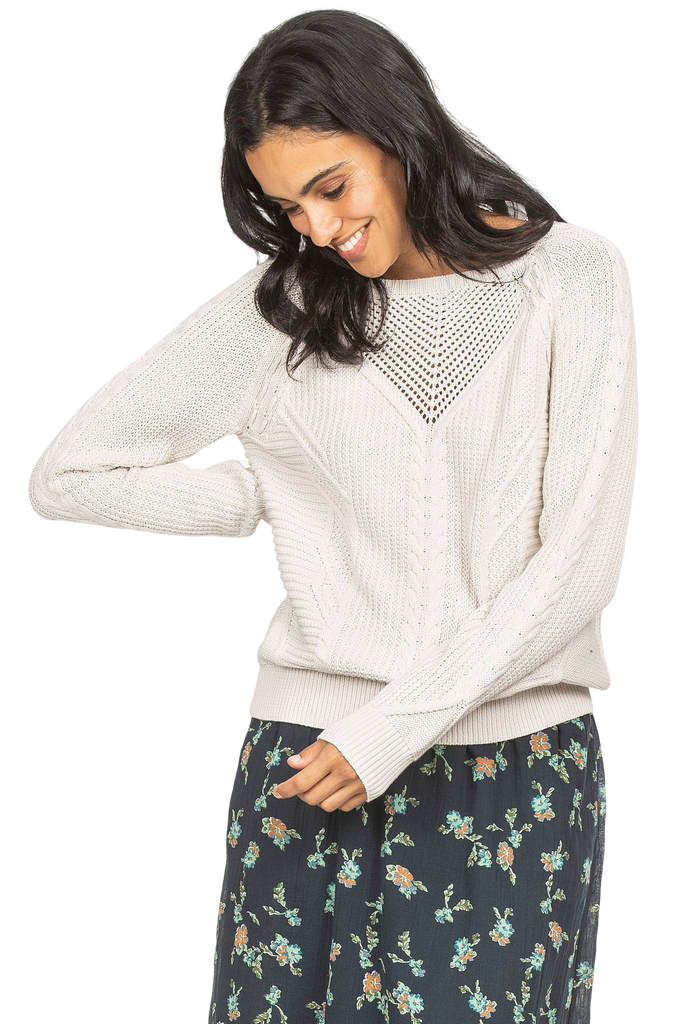 Lilla P Cable Stitch Pullover