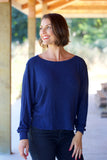 PROJECT SOCIAL T Coryn Dolman in Navy