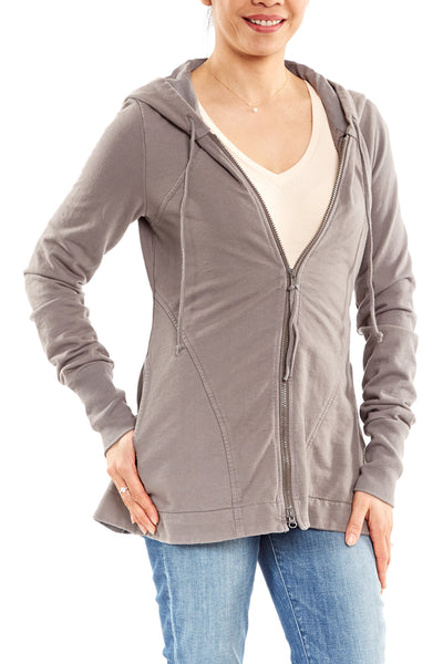 Prairie Underground Mid-Hedgerow Hoodie in Gray Ray