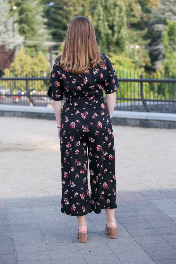 People Tree Lexia Bouquet Jumpsuit