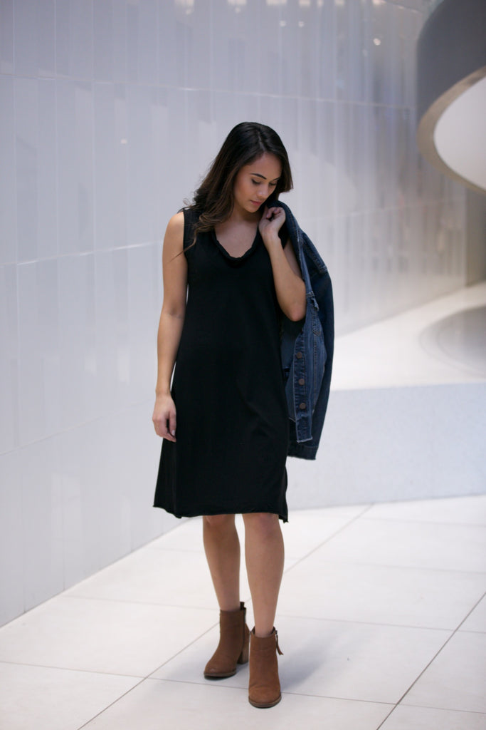 Prairie Underground Falconet Dress Black
