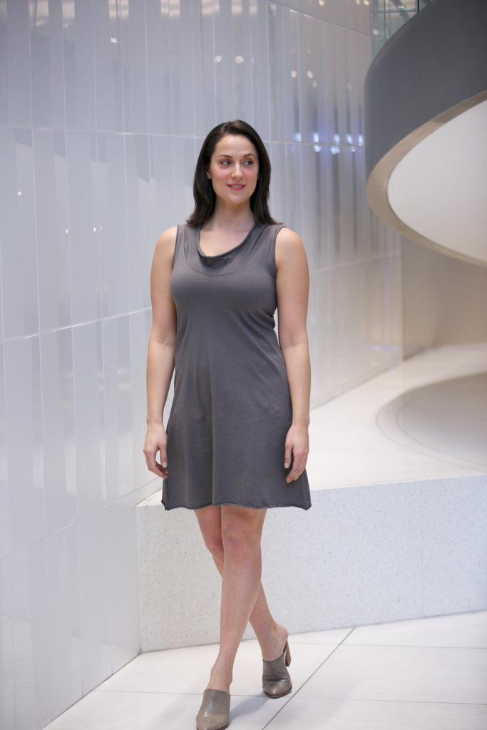 Prairie Underground Falconet Dress Dior Gray