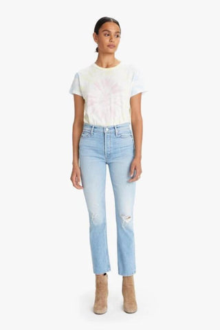 JOE'S JEANS The Charlie Ankle Sequin Side Stripe in Tatianna