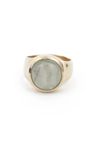Betsy & Iya Smooth Sterling Silver Ring
