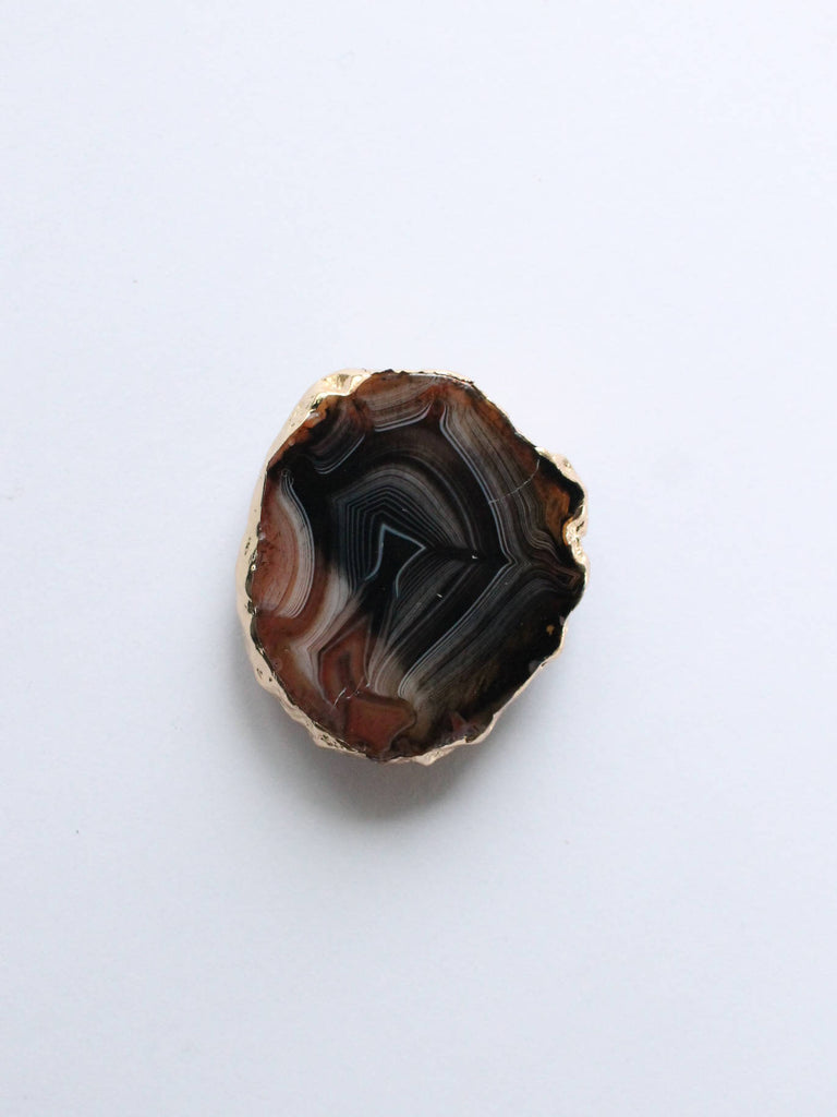 BluCalypso Rock Grip Gold Brown Agate