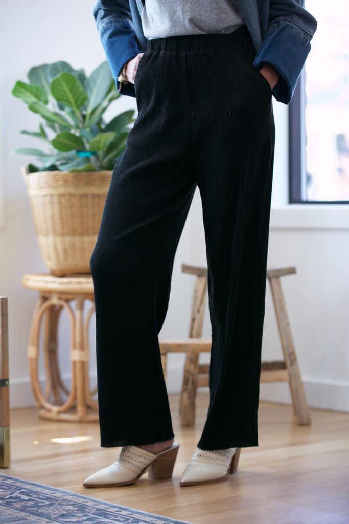 SARAH LILLER SF Tomales Pants black
