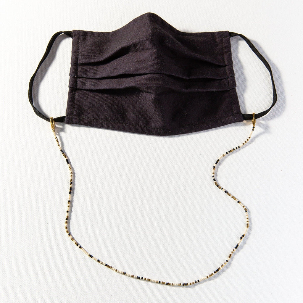 INK + ALLOY Beaded Mask Necklace