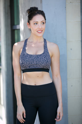 Shine Suspended X Racerback Sports Bra