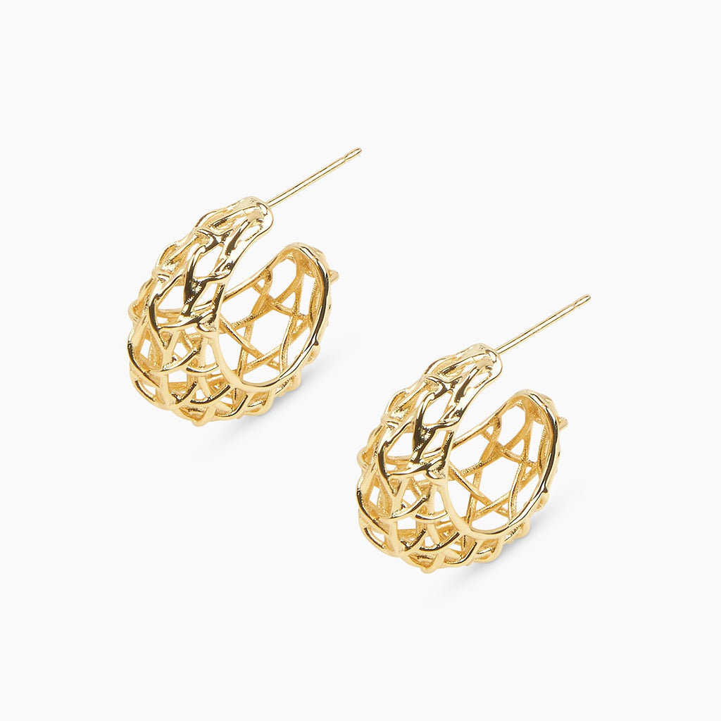Gorjana Tulum Statement Small Hoops