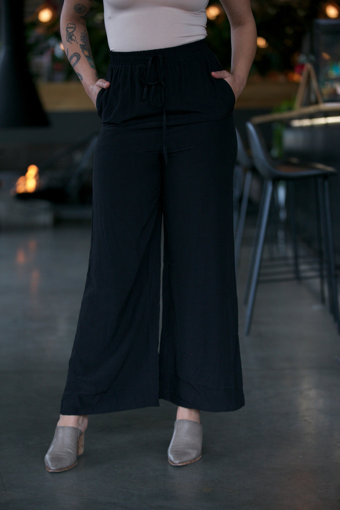 SAGE THE LABEL Rocky Wide Leg Pant