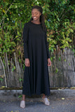 SARAH LILLER SF Katherine Dress Black