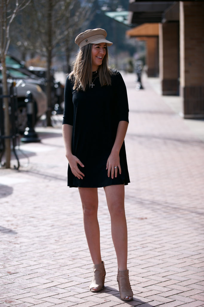 SARAH LILLER SF The Katie Dress Black