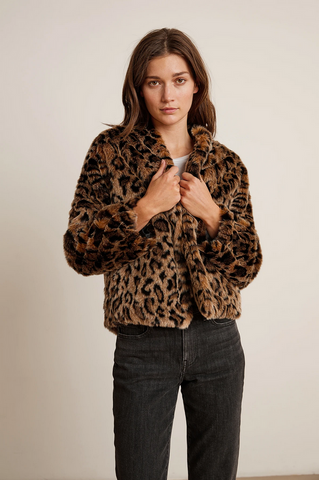 Band of Gypsies Serpent Fur Jacket