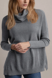 MINNIE ROSE Cashmere Turtleneck Audra Sweater