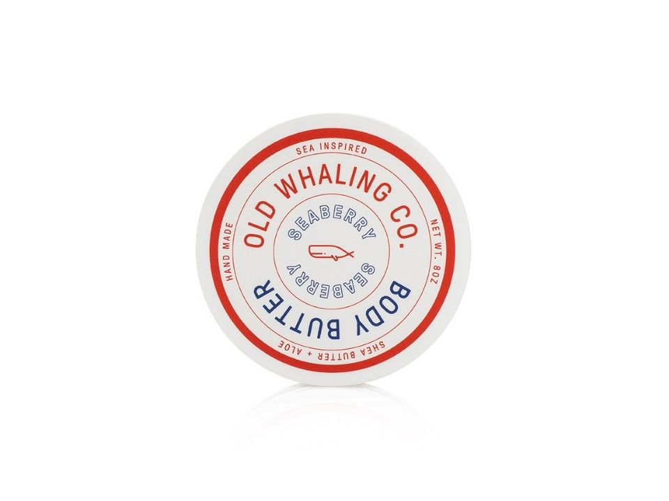 Old Whaling Company Body Butter 8oz Seaberry