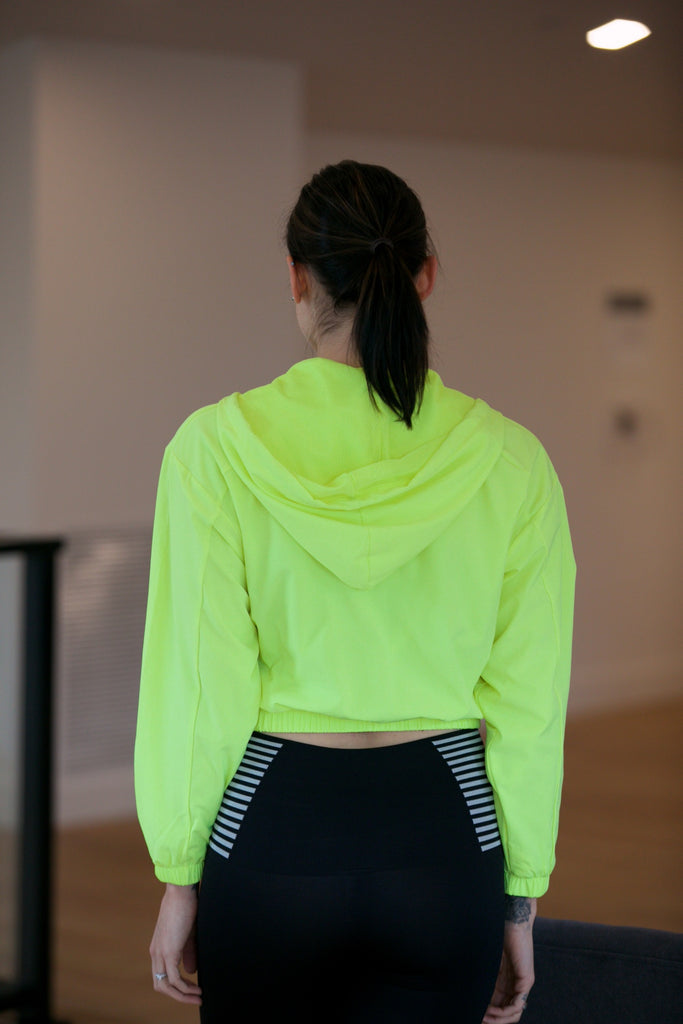 The Hope Jacket in Neon Yellow