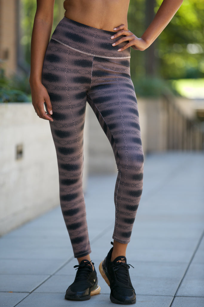 Shine Printed Scrunch Bum Leggings