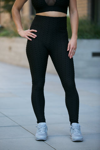 Shine Moto Leggings