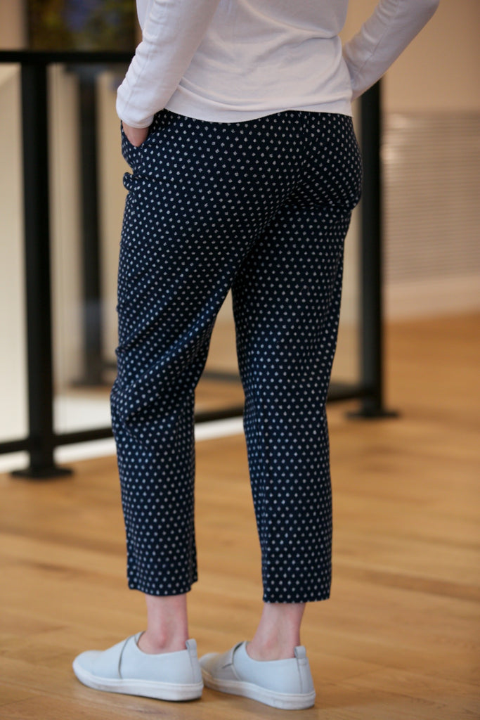 Sugar Candy Mountain The Karen Pant Indigo Dot
