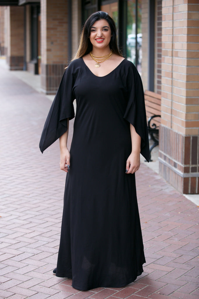 TYSA Hemmingway Dress Black