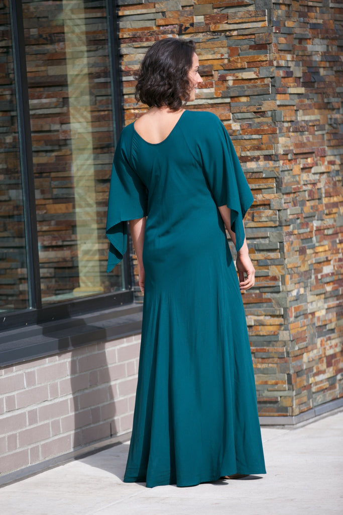 TYSA Hemmingway Dress Emerald