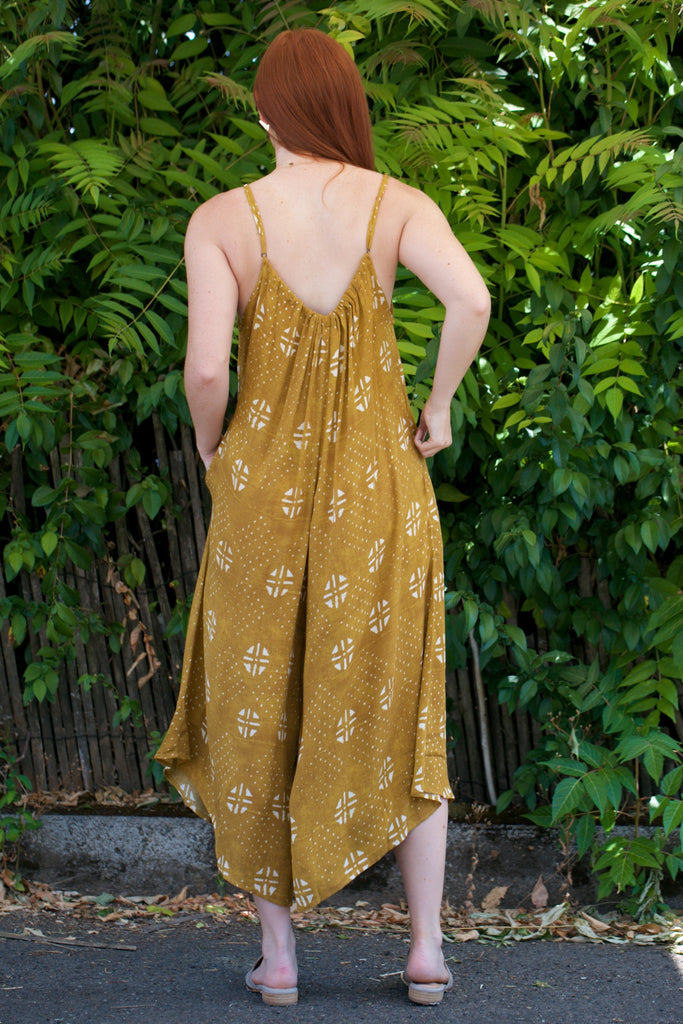 TYSA Sonoma Playsuit in Gold Dust