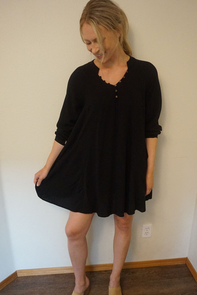 TYSA Nomad Mini Dress Black