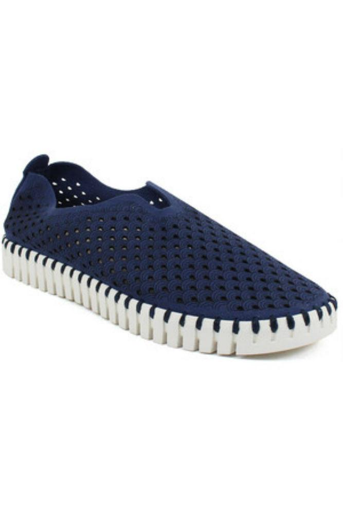 Ilse Jacobsen Tulip Slip-On w/White Sole