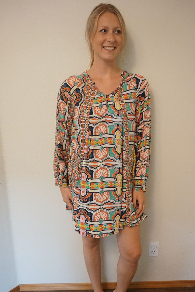 TYSA Nomad Mini Dress - Print