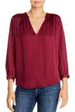 Velvet by Graham & Spencer Lori Blouse Blusher