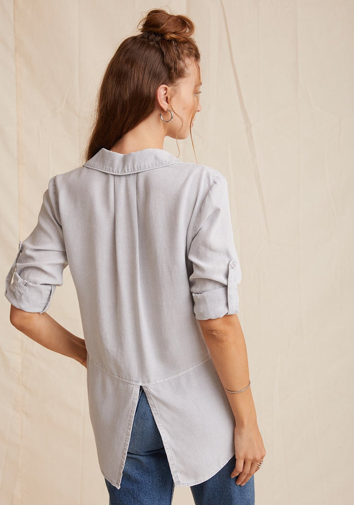 Bella Dahl Split Back Button Down - Spring