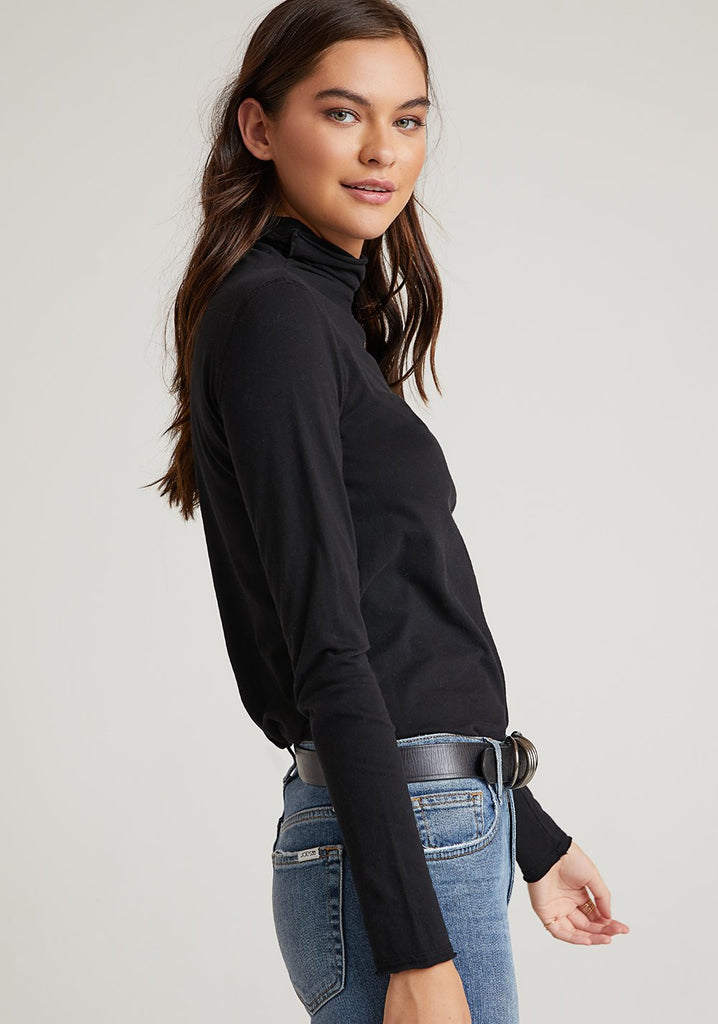 Bella Dahl Turtle Neck Top - Spring