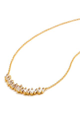 Gorjana Palm Adjustable Necklace in Gold