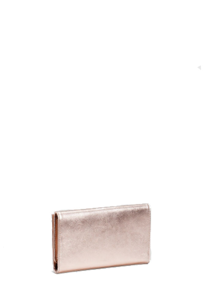 Elk Are Trifold Wallet in Rose Gold