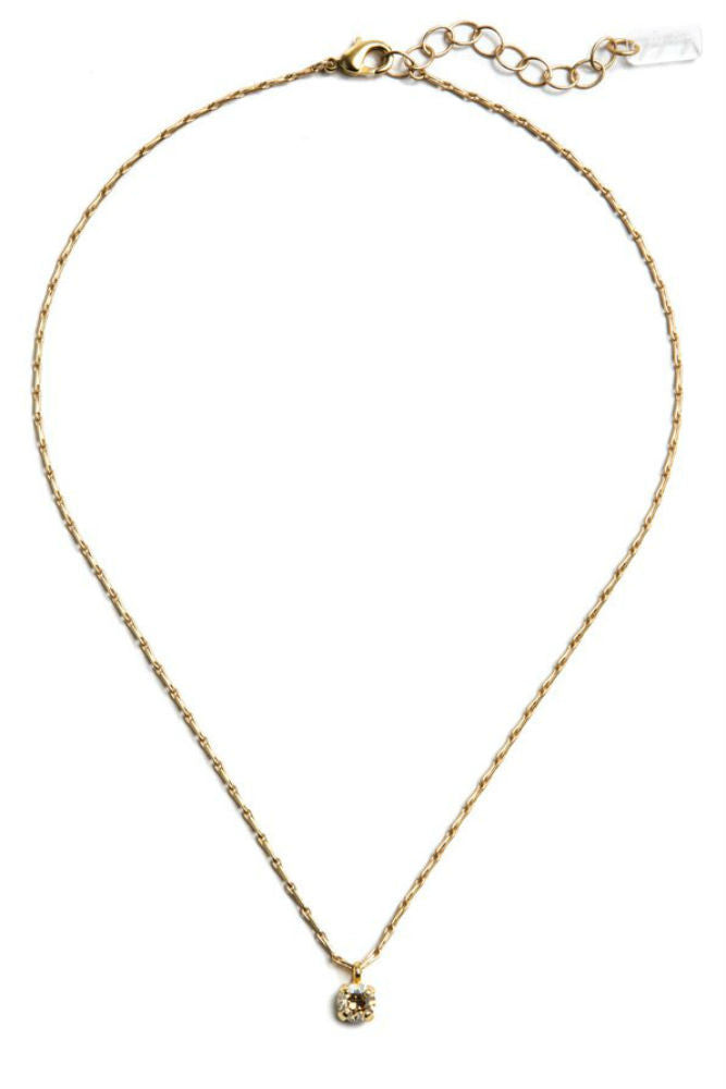 Grayling Audrey Swarovski Pendant Necklace in Gold