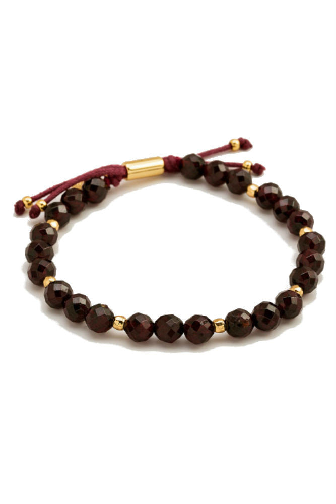 Gorjana Power Gemstone Beaded Bracelet in Energy