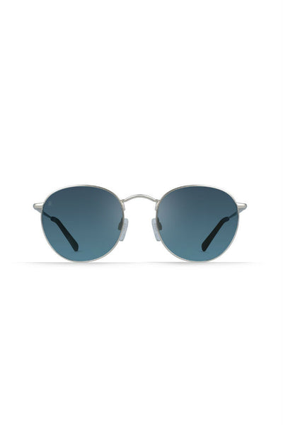 Raen Benson in Matte Rootbeer/Smoke Blue Mirror