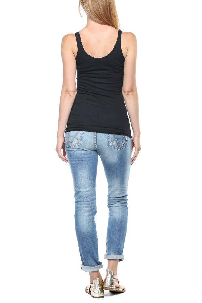 Bobi Basic Tank in Black FINAL SALE