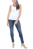 Bobi Basic Tank in White FINAL SALE
